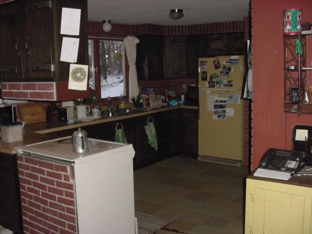 Kitchen with 4 x 8 Pantry
