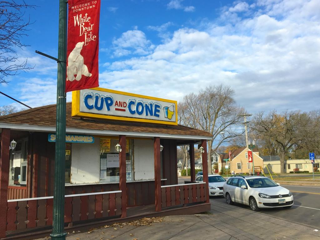 """The one and only """"Cup and Cone??."""