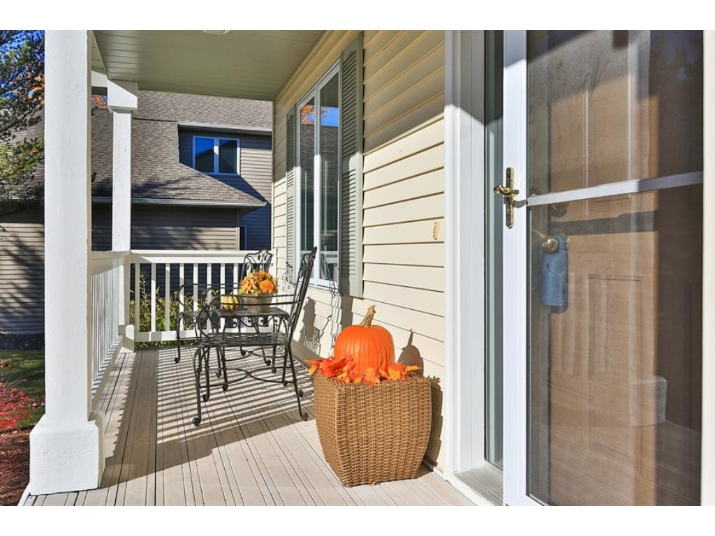 Large front porch is the perfect place to watch for the kids getting off the bus, greet and chat with neighbors or enjoy a morning coffee and the newspaper.