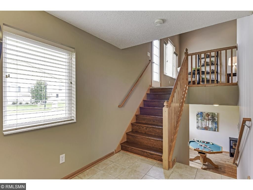 Easy Access To Upstairs Living Room Or Lower Level Family Room!