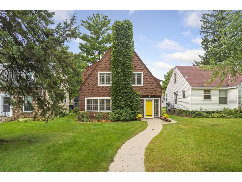 Amazing tudor just steps from the creek & parkway.