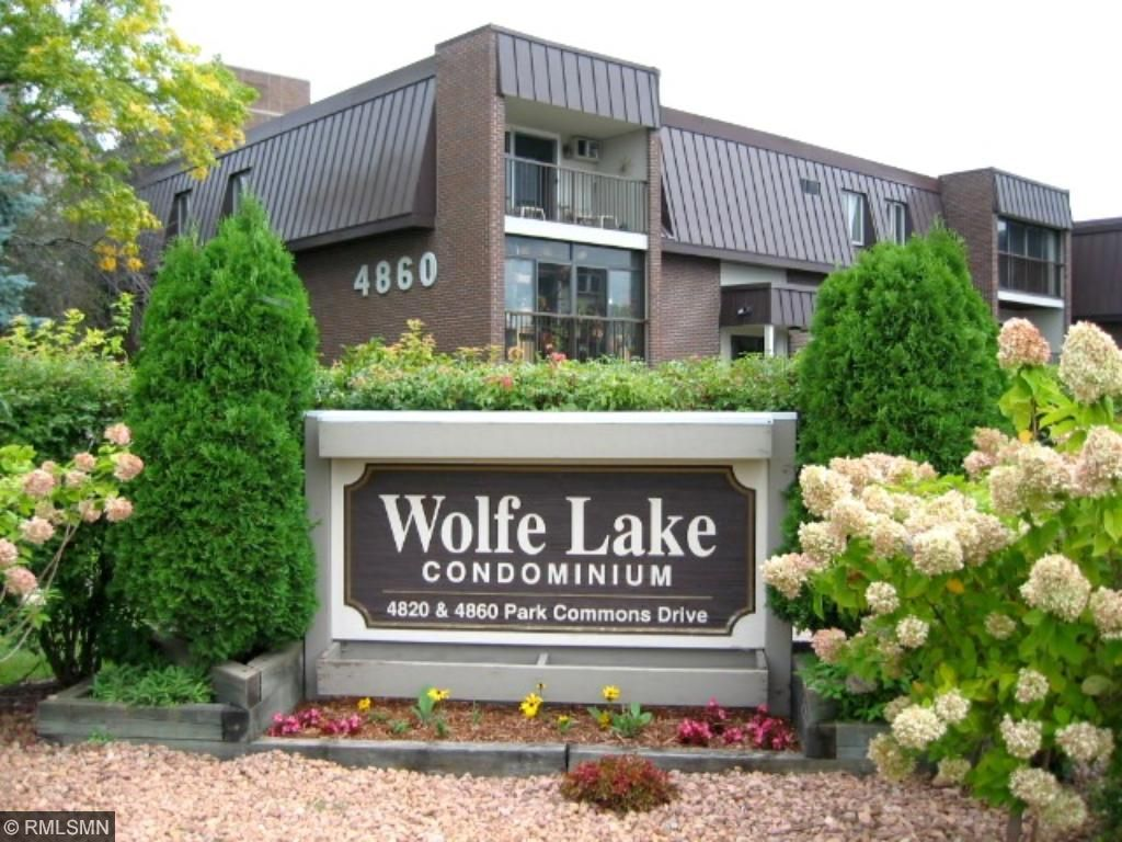 Such a convenient location backing up to Wolfe Lake Park, just a couple of blocks to St. Louis Park Recreation Center, Miracle Mile Shops, Excelsior & Grand, and many other shops and restaurants, movie theater, and Park Nicollet Heath Care.