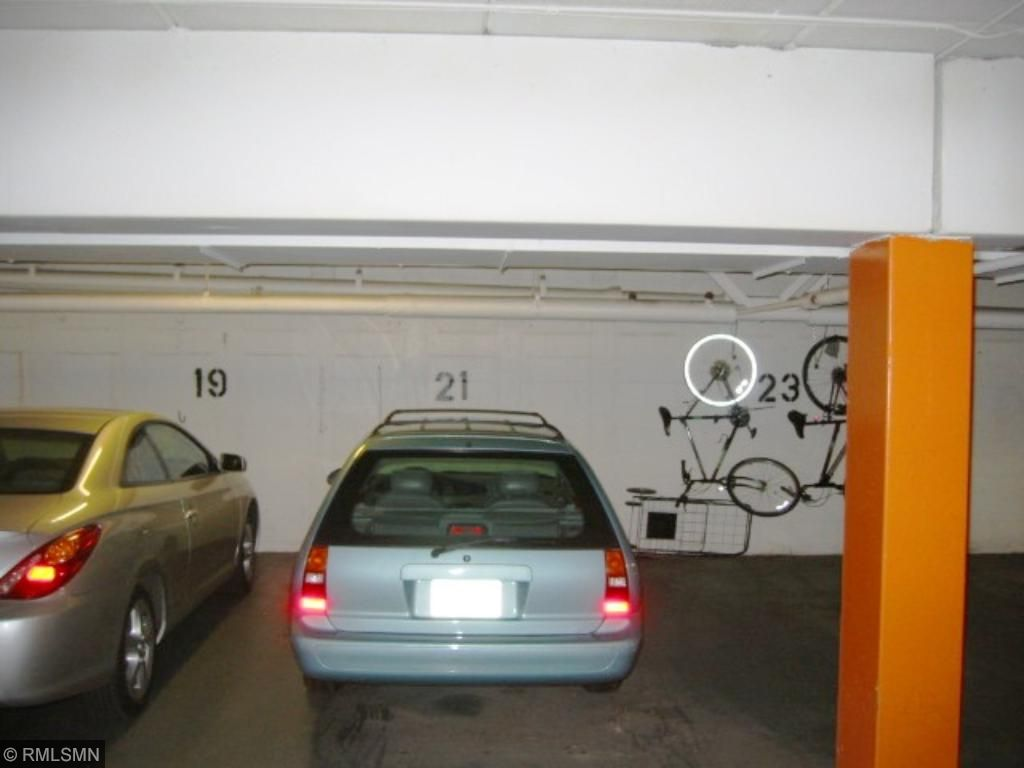 Parking place for unit 209 is fairly close to elevator and stairs.  Storage closet is also close.