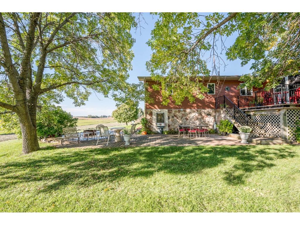Multiple Use Deck and Pation! Nice Size Deck Right Off of 4 Season Porch, Oversize Patio for Private Entertaining. Also has Built in Water Feature for Relaxation! Look at the Extend Views!