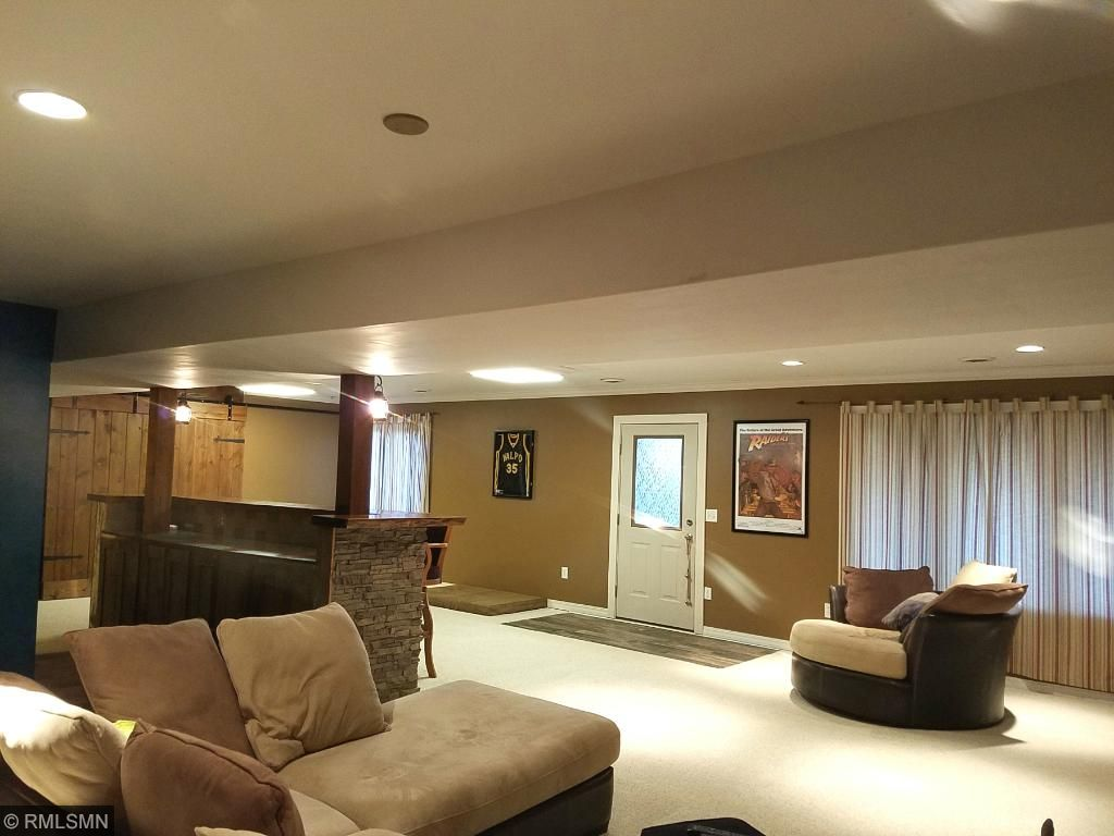 Lower Level Family Room with Walkout