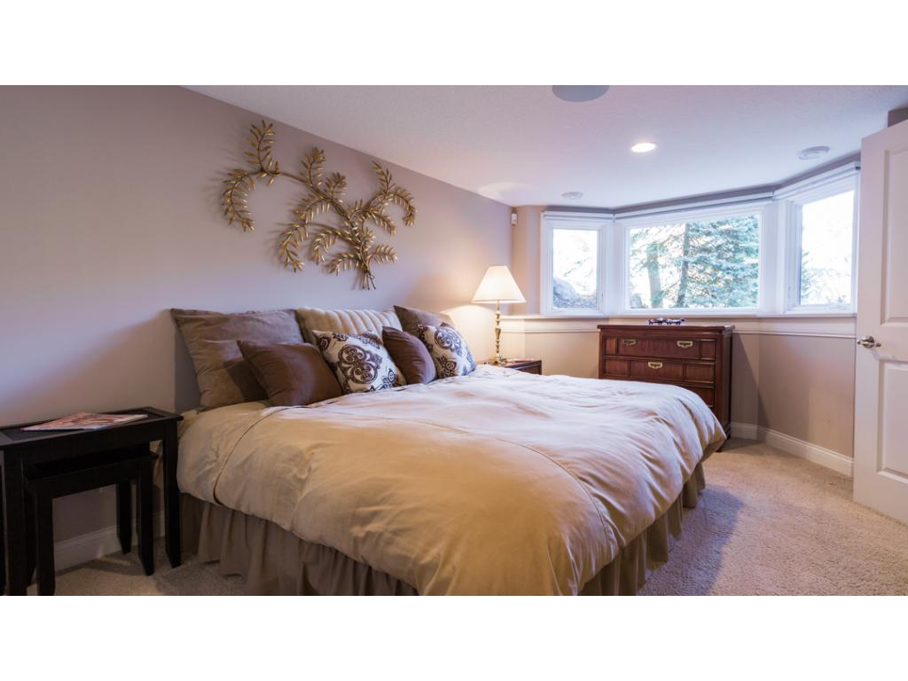 5th bedroom located on the lower level. Features large closet & front facing bay window. Home offers energy efficient Lennox furnace & AC as well as 2 50-gallon energy efficient water heaters.