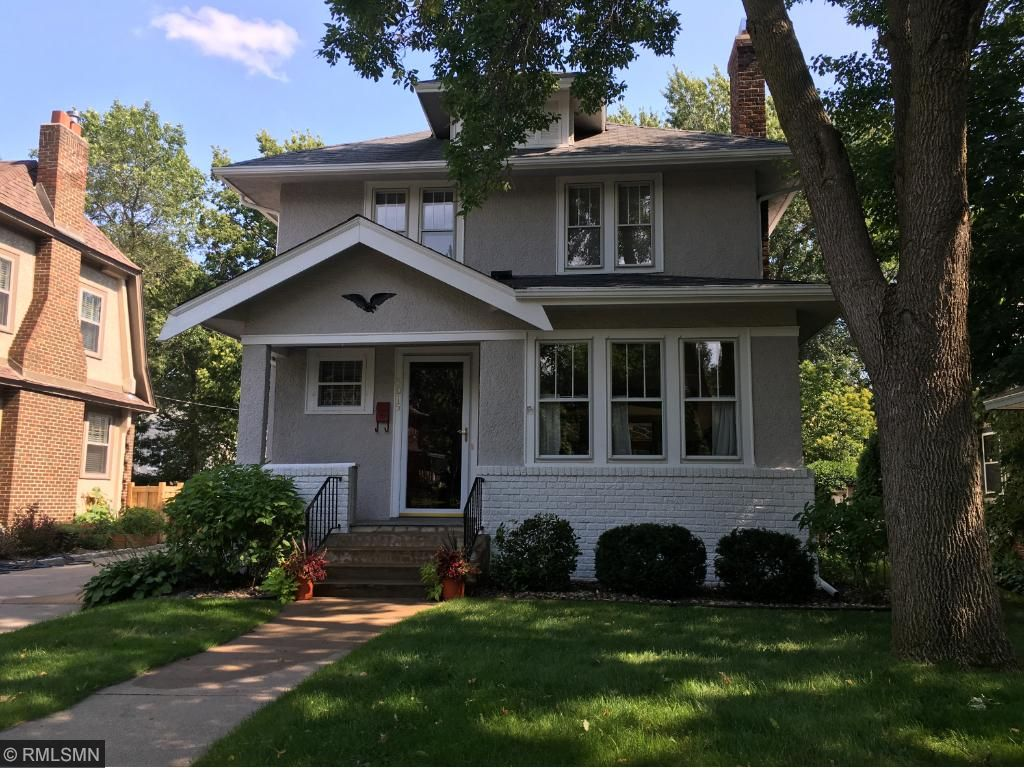 Beautiful Arts and Crafts Two Story set on an Award winning block with a very active group of neighbors that have held many block parties and gatherings for 47 years! Truly an real community feel!