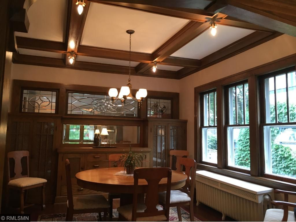 Formal Dining Room with early century charm and detail.