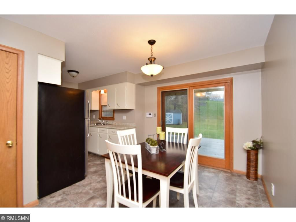 Updated kitchen with stainless steel appliances and new countertops