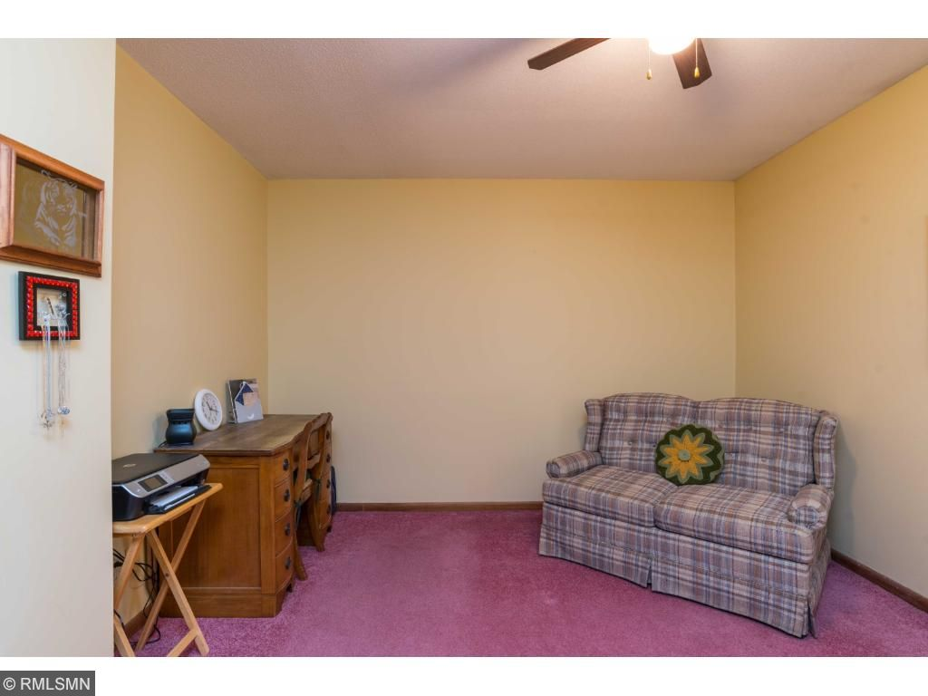 Third bedroom makes a great office.