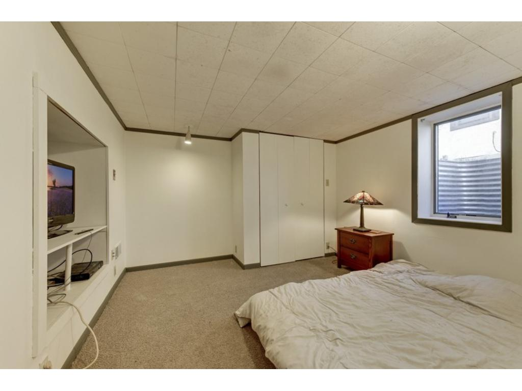 A third bedroom & 3/4 bath in the lower level!
