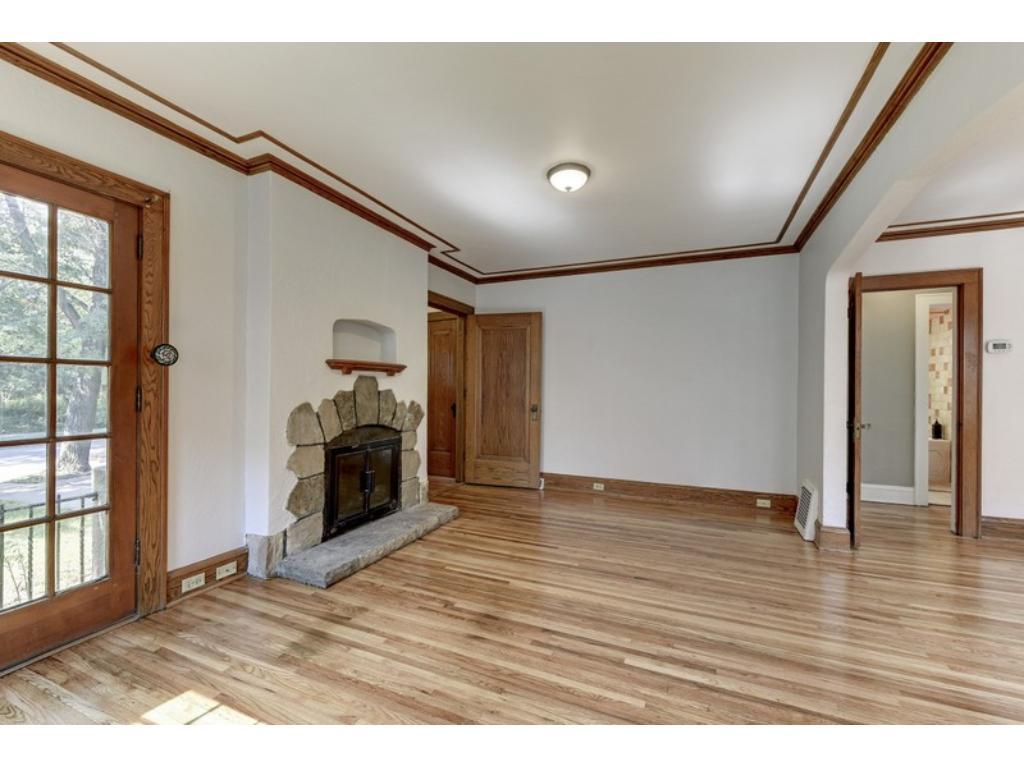 Beautiful, newly refinished floors!