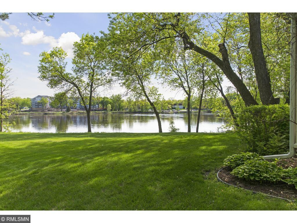 Enjoy these 170 feet of Mississippi River frontage! 512 Rice St., Anoka, MN