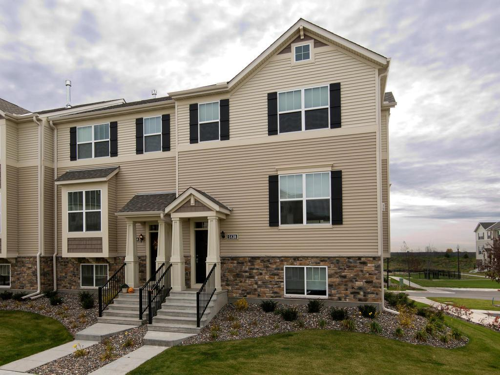 Wickford Village is proud to present this unique, new, never been lived in townhome with two oversized complete master suites. End unit has three walls of windows that sunlight pours into & makes you feel nice & cozy.