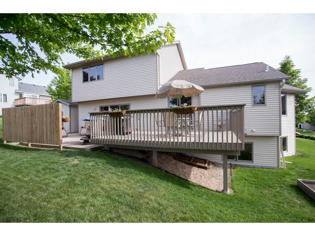 Great backyard, lots of room for entertaining.