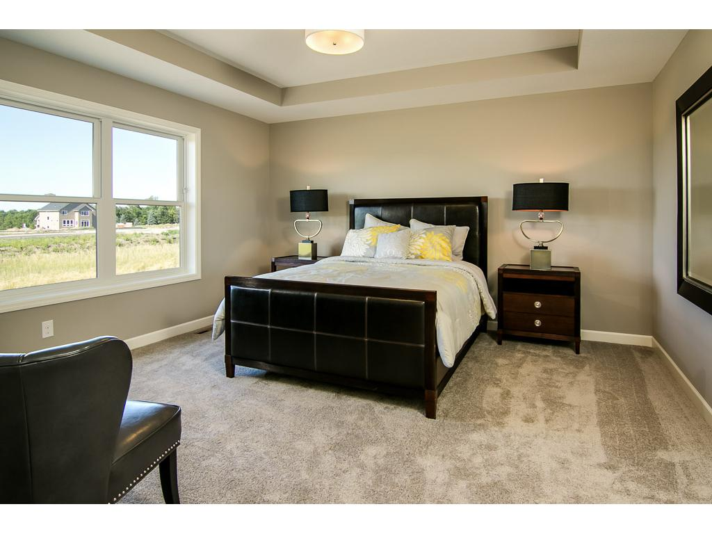nice size master suite with box vault