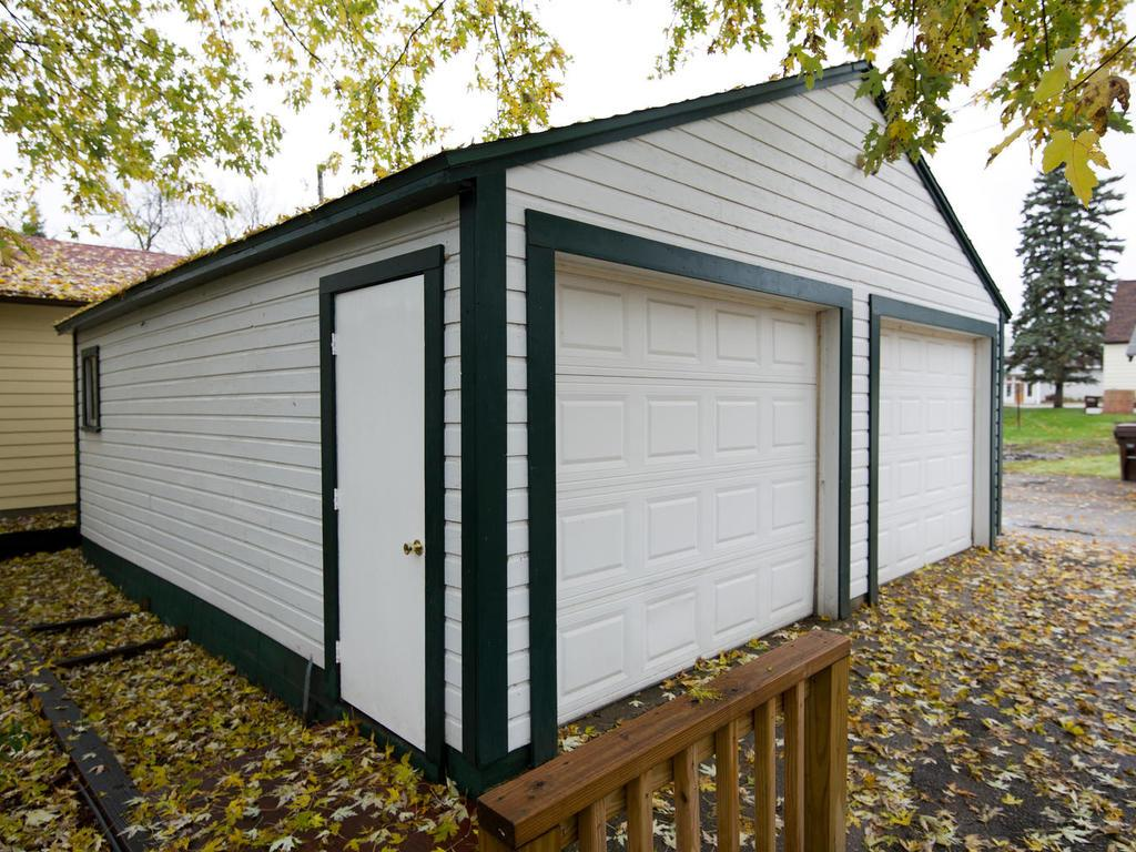 22 x 24 detached garage.