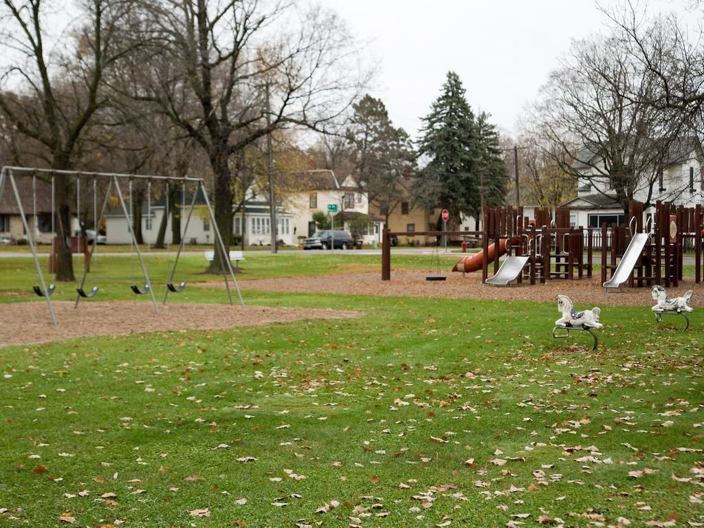 Plus a playground....
