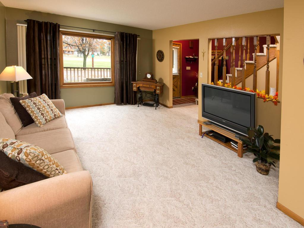 Another view of your living room, great picture window lets in lots of natural light.