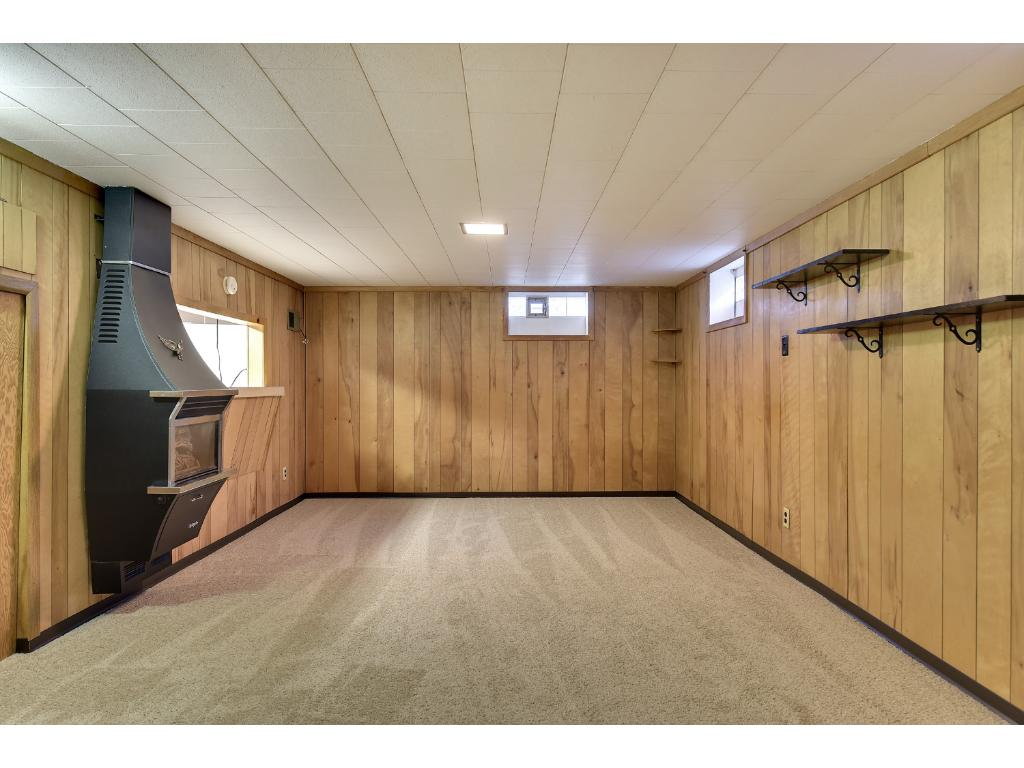 Fourth bedroom with large egress window.