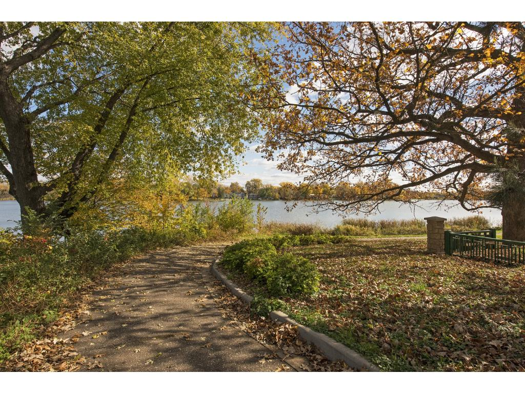 Enjoy a peaceful walk along the lake just blocks from your doorstep!