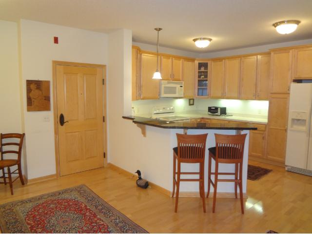 Kitchen with a Nice Breakfast Bar