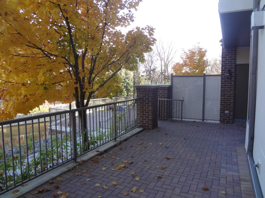 Fabulous 30 x 11 Deck Overlooking the pond -- Theater of Seasons