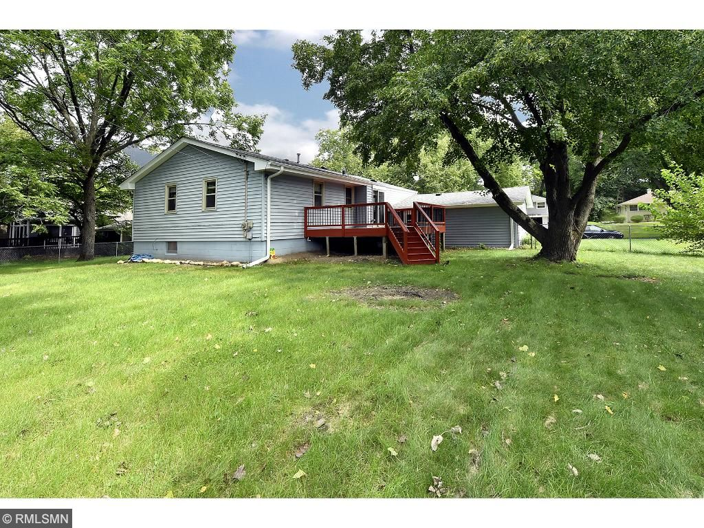 Updated home situated on a deep large lot with a fenced yard in a great neighborhood!