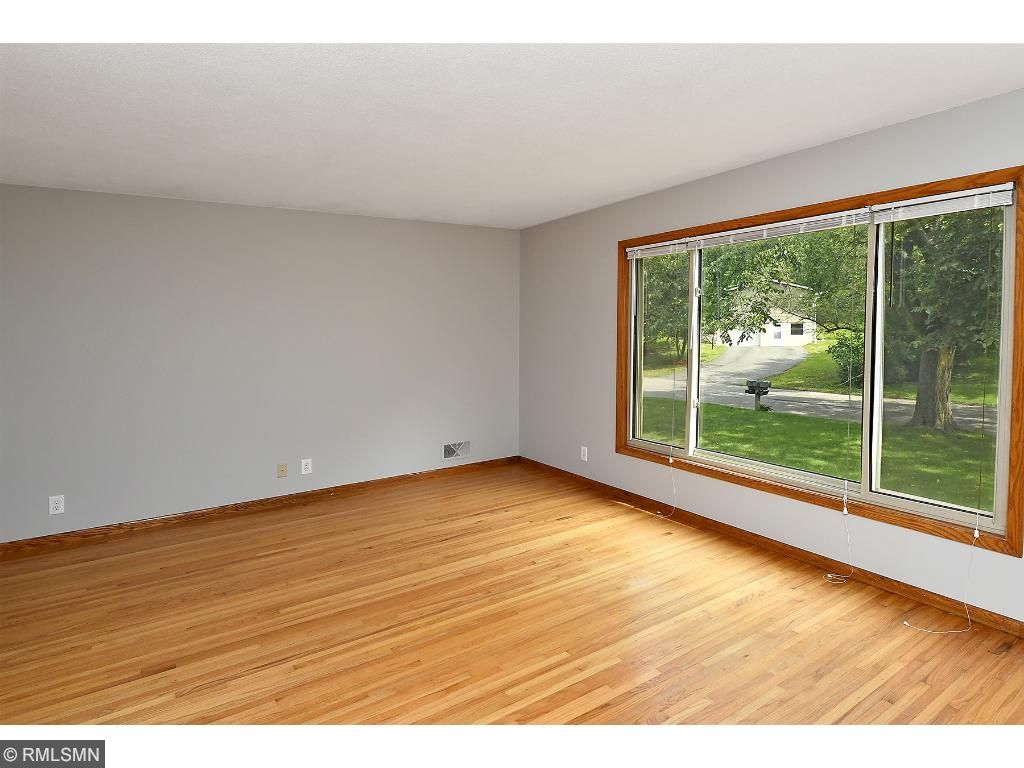 Main floor living room with lots of natural light!