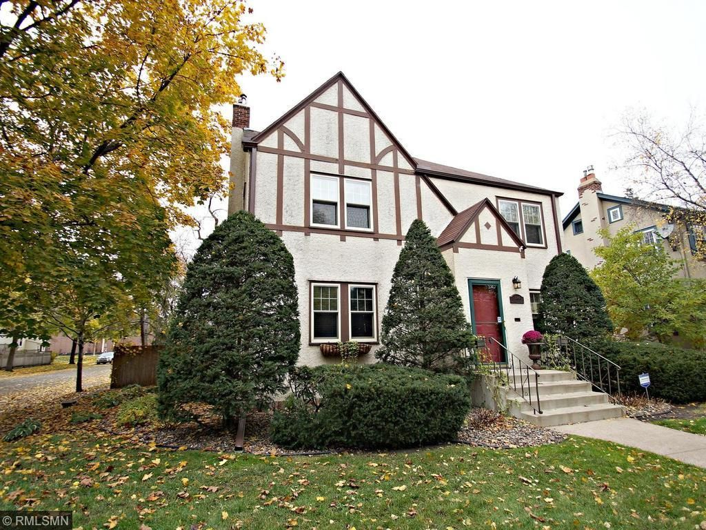 2 Story Tudor on a Corner Lot with a 2 car garage! Strong block and neighborhood near Minnehaha Creek, trails, parks & shops of South MPLS! Windows, AC & Insulation was installed by MAC. Living room with new gas fireplace!