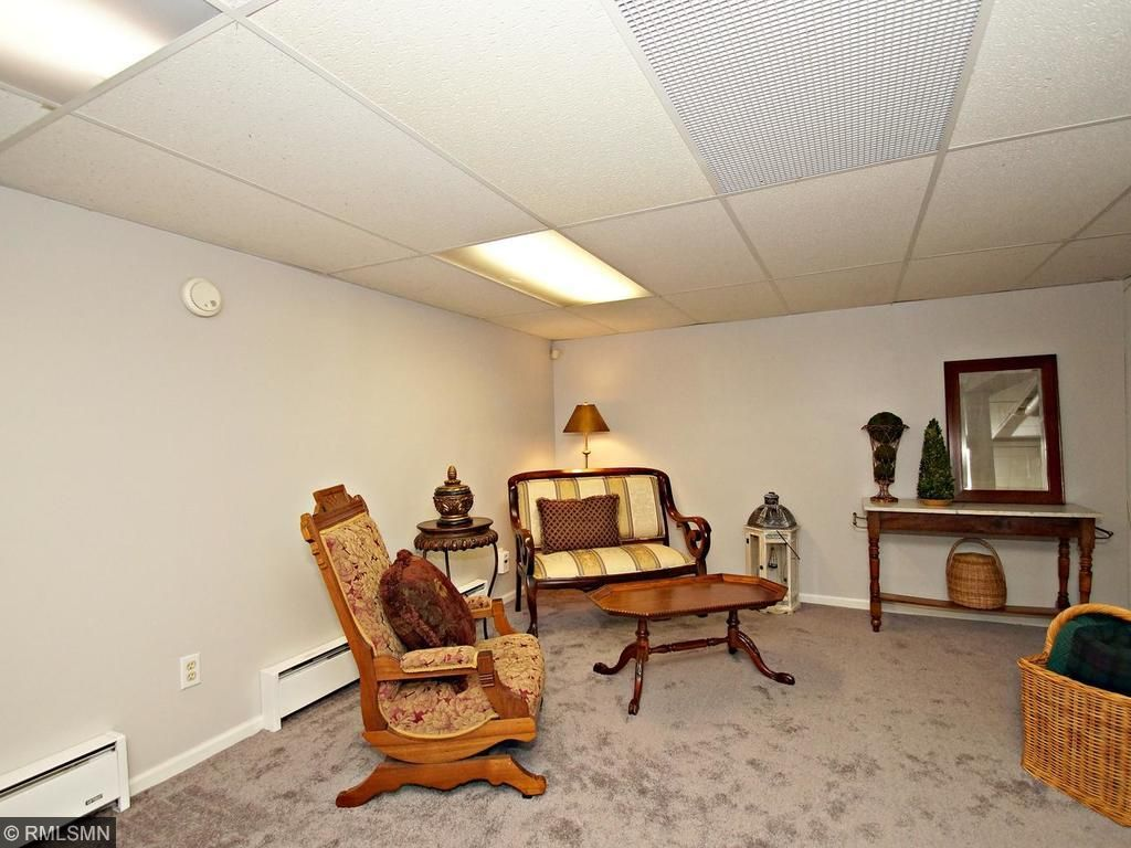 Large fully finished basement with new block windows, fresh paint and new carpet. Create the perfect entertainment area.
