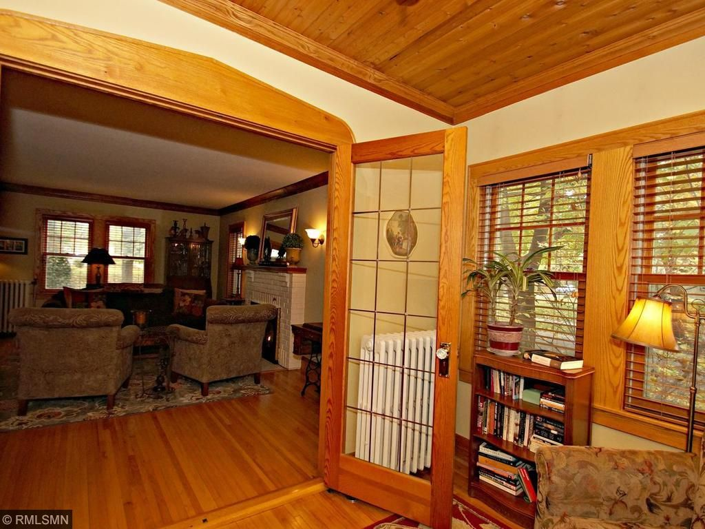New French doors can separate the living room for a perfect den or home office! 3 Living rooms to choose from in this home for the next family!