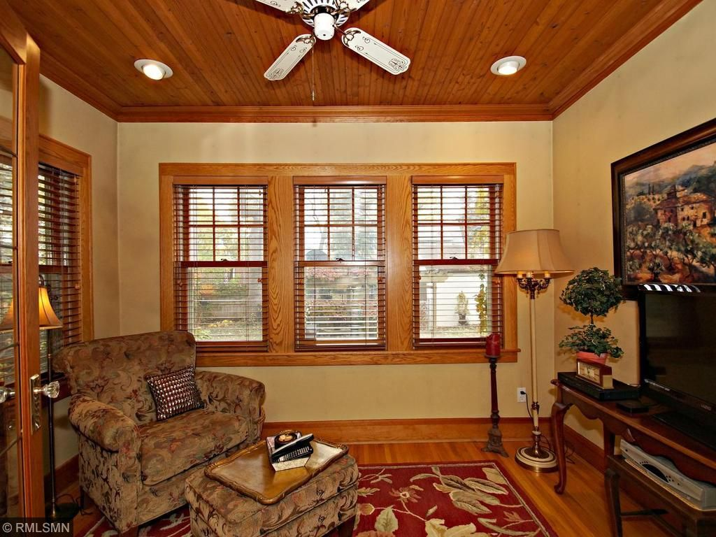 Extra bonus living area off formal living room, surrounded with windows for natural lighting and west sun exposure.