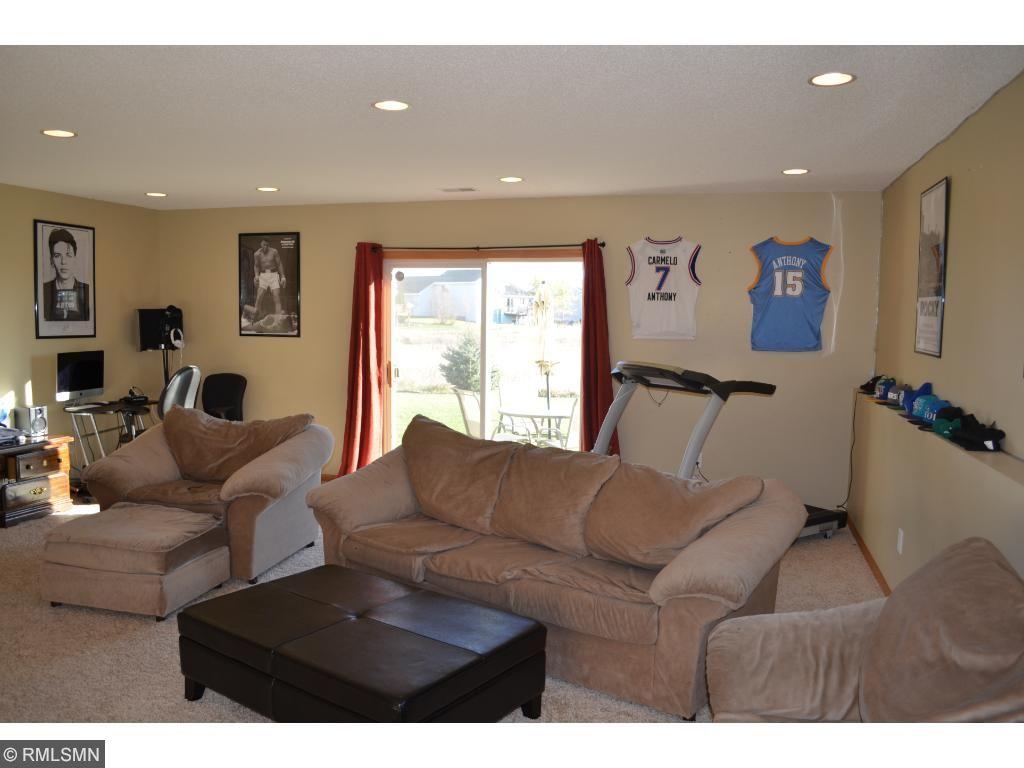 Huge lower level walkout family room!