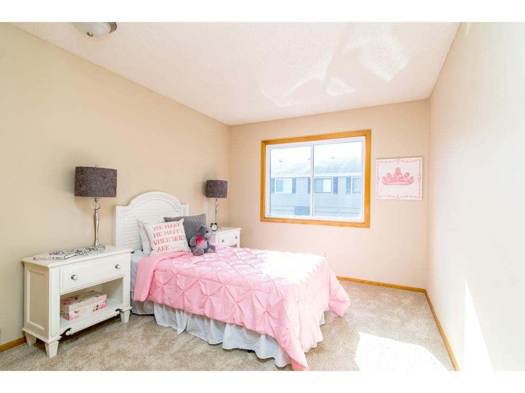 A second Bedroom on the main floor offers ample closet space