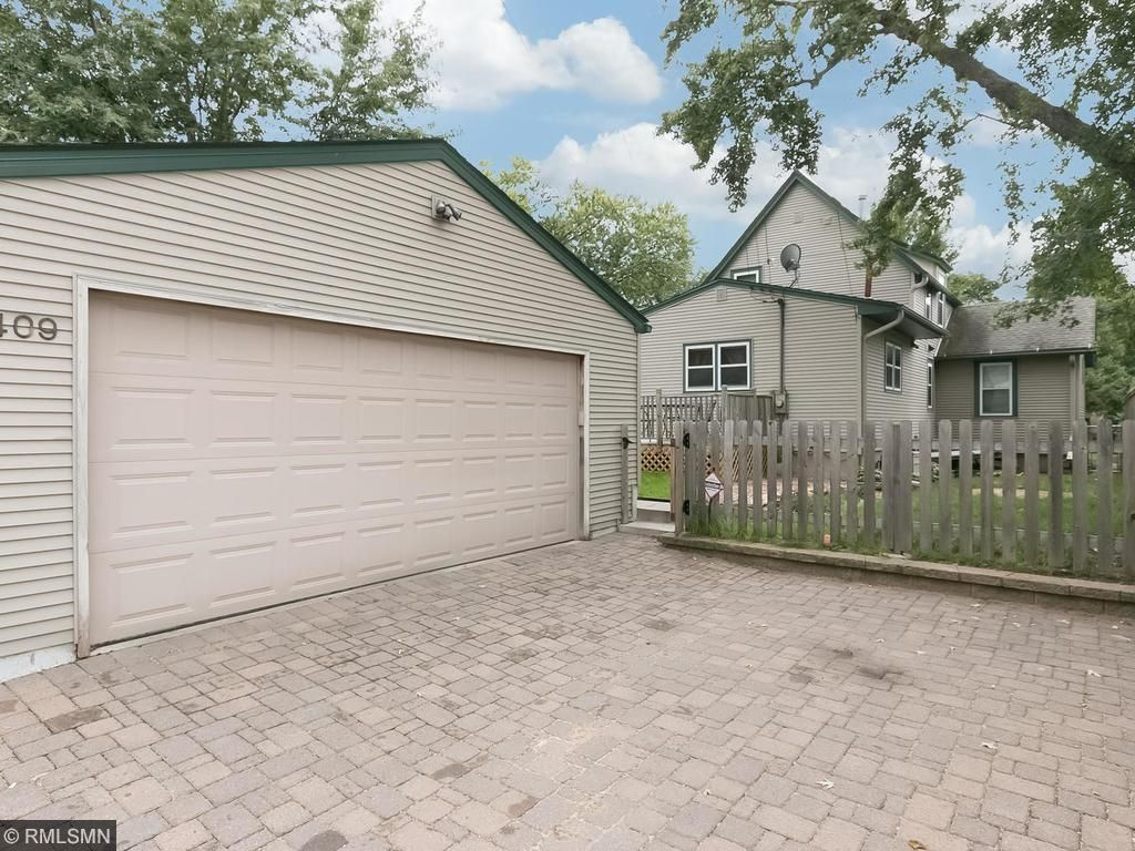 Beautiful 2-car garage provides off-street parking throughout the year!
