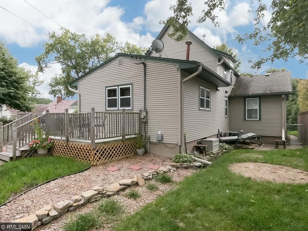 Nice sized backyard with maintenance-free deck and water-feature - perfect for outdoor entertaining!