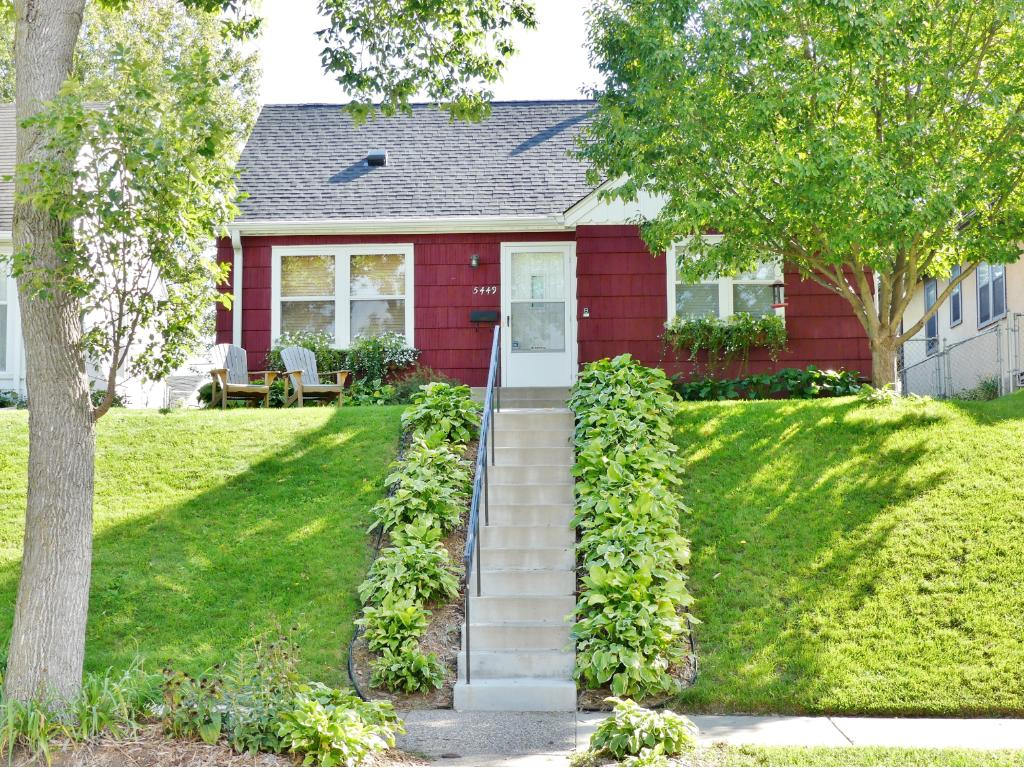 Adorable 1-1/2 story home in pristine condition located in desirable Lake Nokomis area.