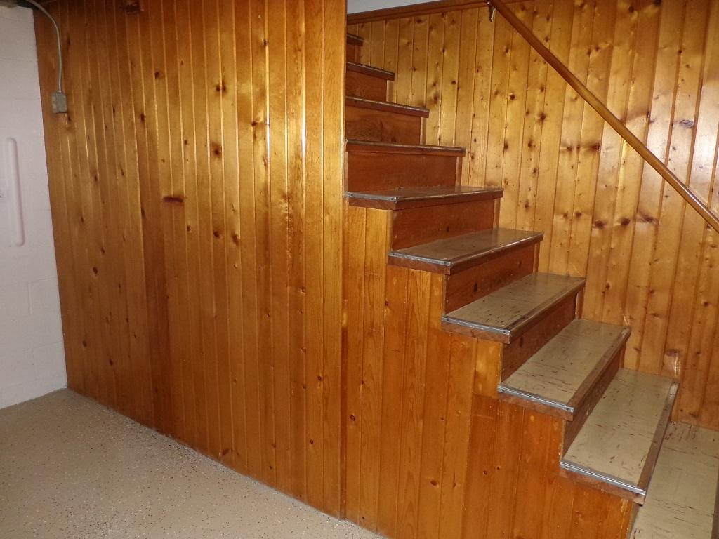 Stairs to Basement Level