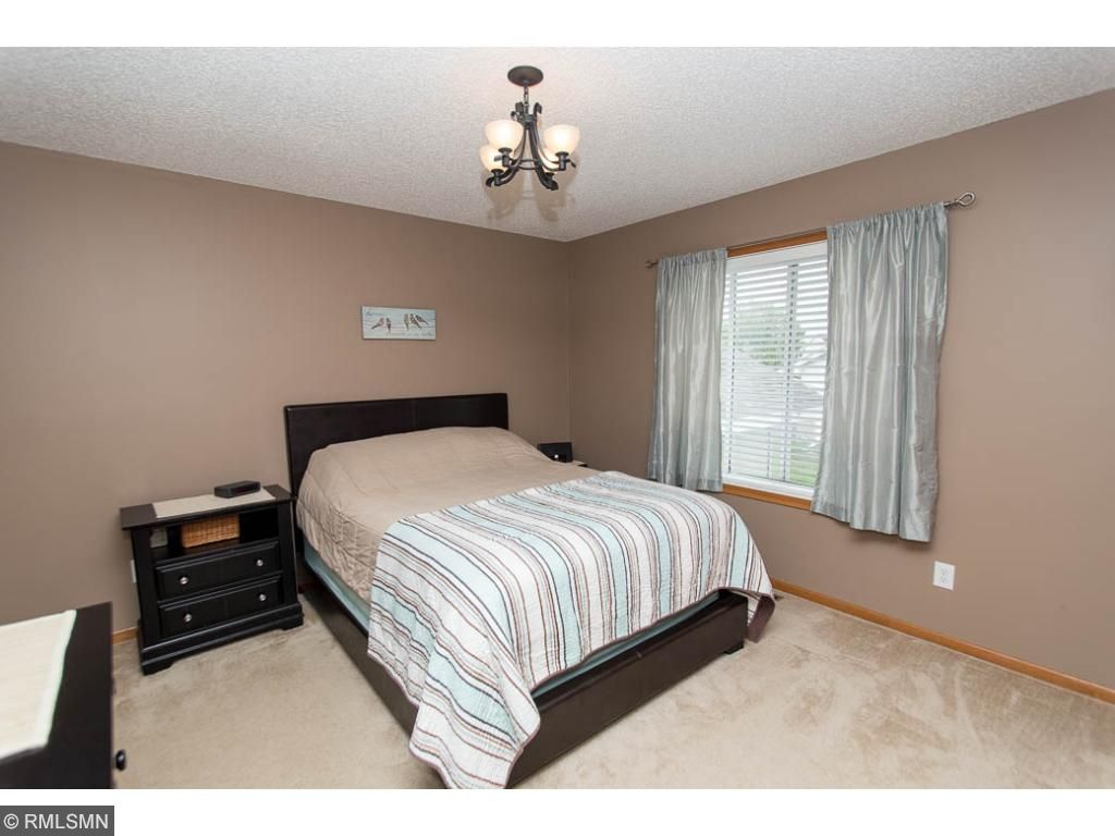 Master bedroom with private bathroom & large closet