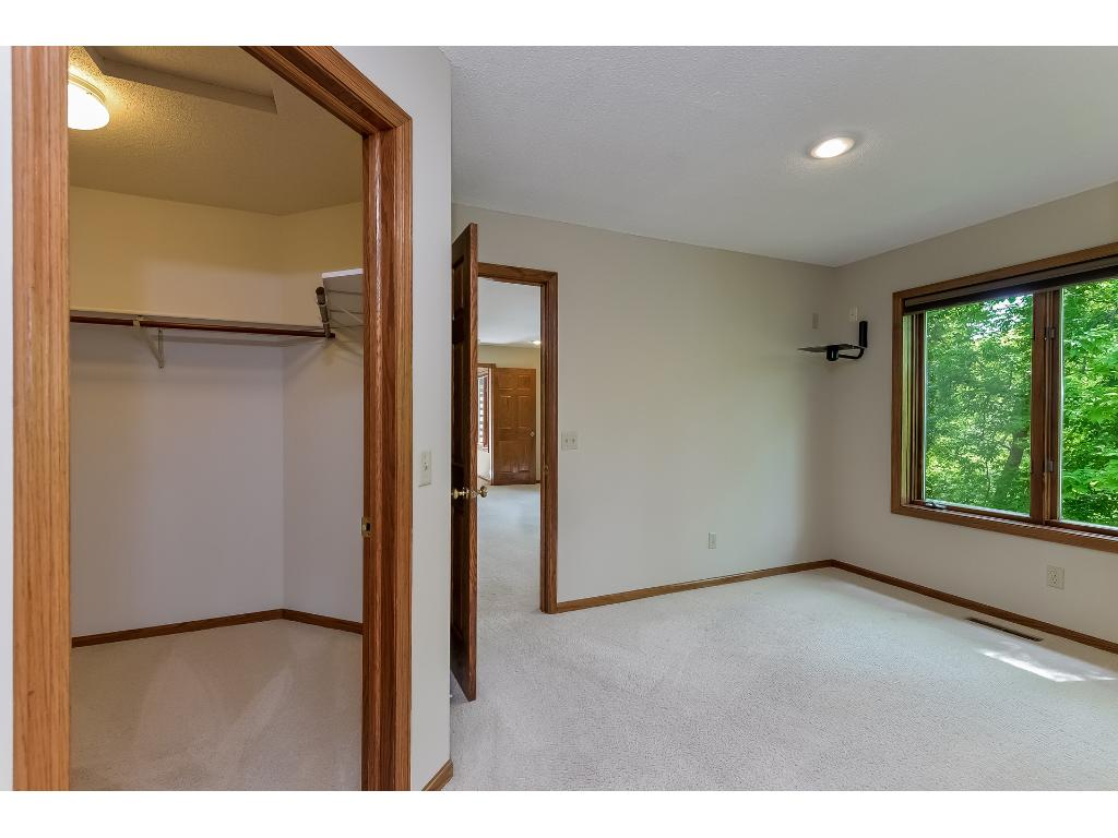 Huge walk in closet in the master bedroom.