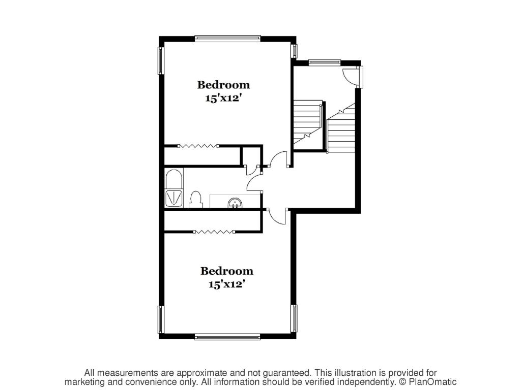 Fourth level floor plan