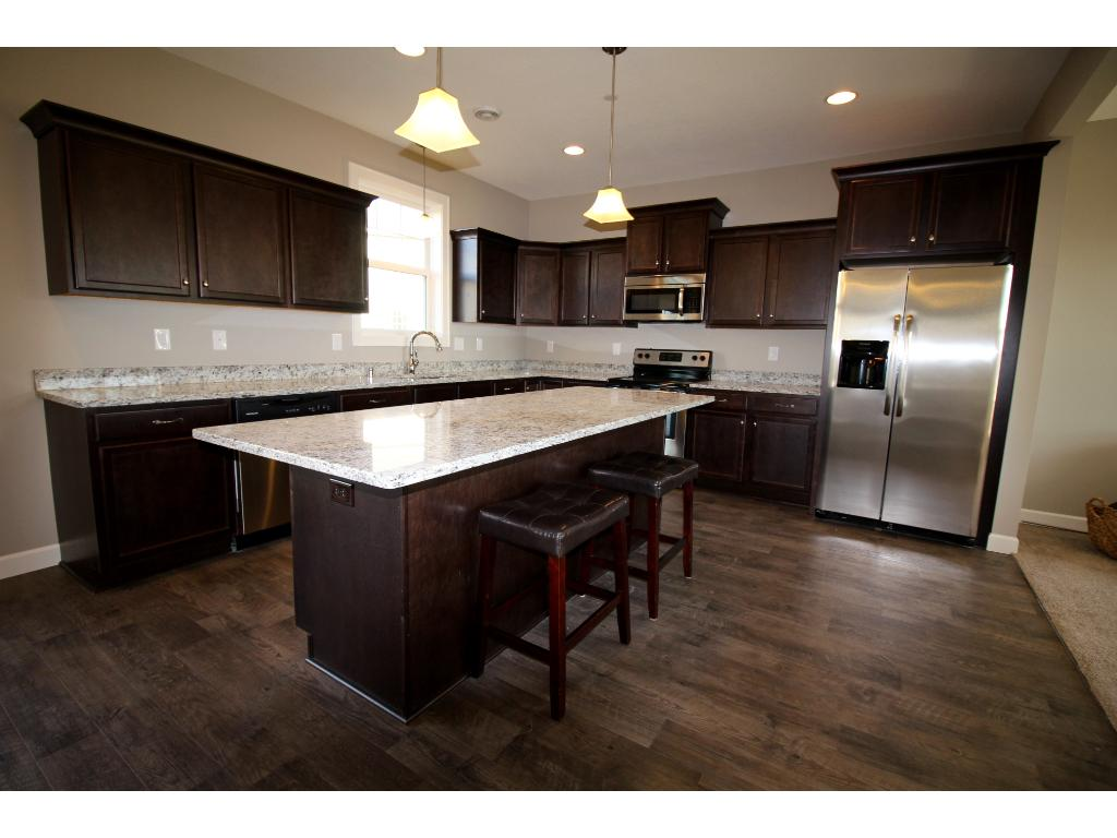 Great kitchen to entertain in, check out this island!