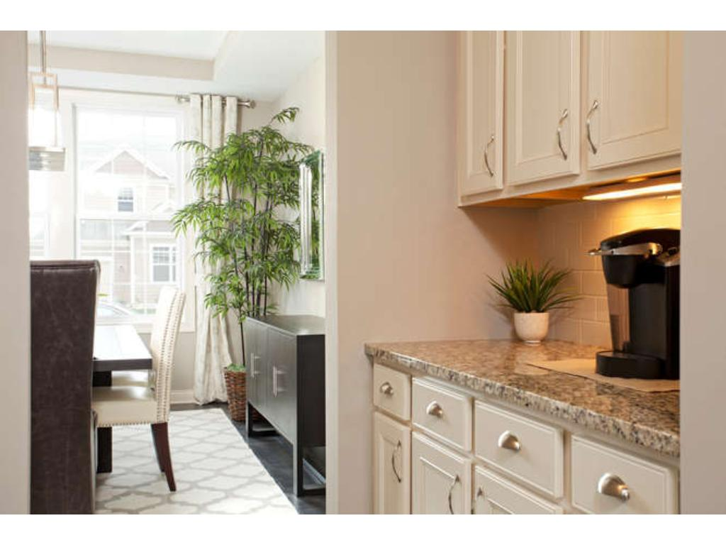 Photos of a Riverton Model (same floor plan, but finishes and options may vary) - Butler Pantry off of Dining Room