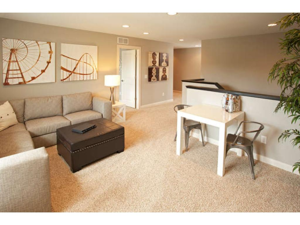 Photos of a Riverton Model (same floor plan, but finishes and options may vary) - Spacious Upper Loft
