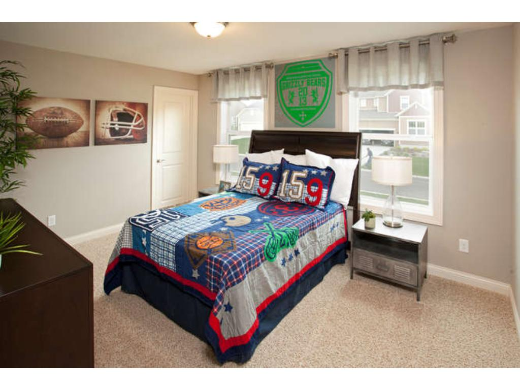 Photos of a Riverton Model (same floor plan, but finishes and options may vary) - Bedroom 3