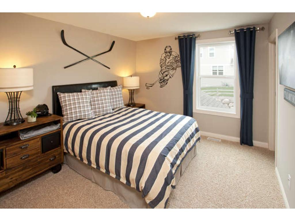 Photos of a Riverton Model (same floor plan, but finishes and options may vary) - Bedroom 4