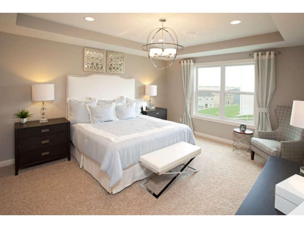 Photos of a Riverton Model (same floor plan, but finishes and options may vary) - Attractive Owner's Suite