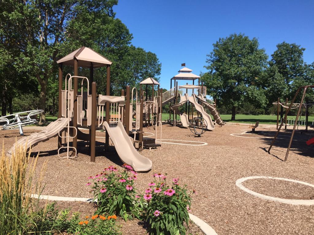 Playground at the Long Lake Regional Park