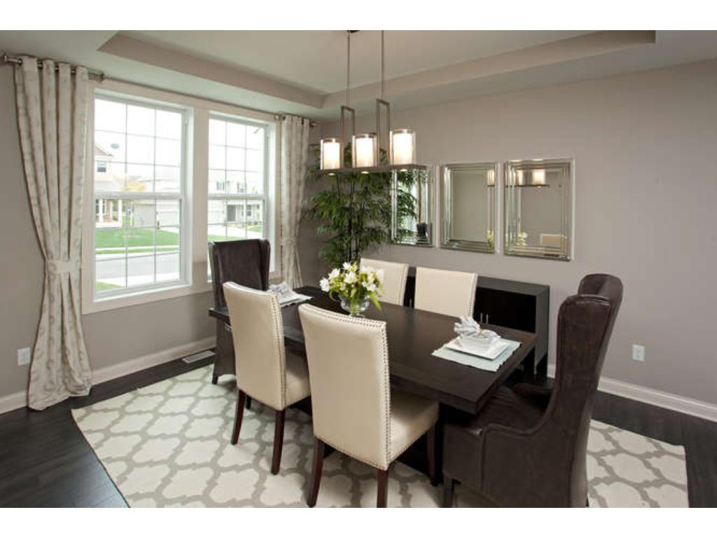 Photos of a Riverton Model (same floor plan, but finishes and options may vary) - Formal Dining Room